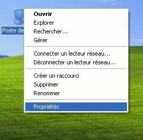 Limiter les effets visuels windows xp secret informatique for Fenetre windows xp
